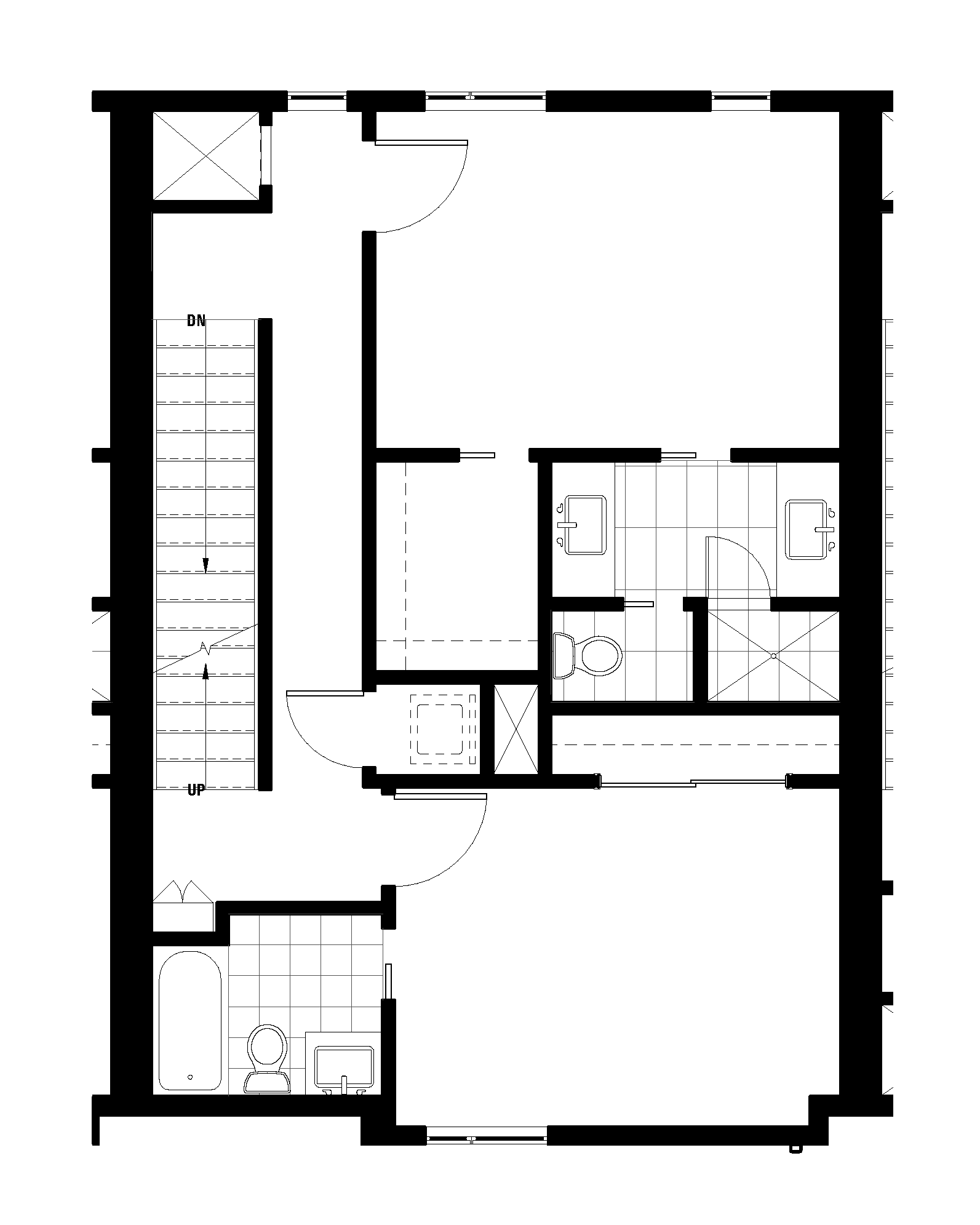 Second Floor - Master and Guest