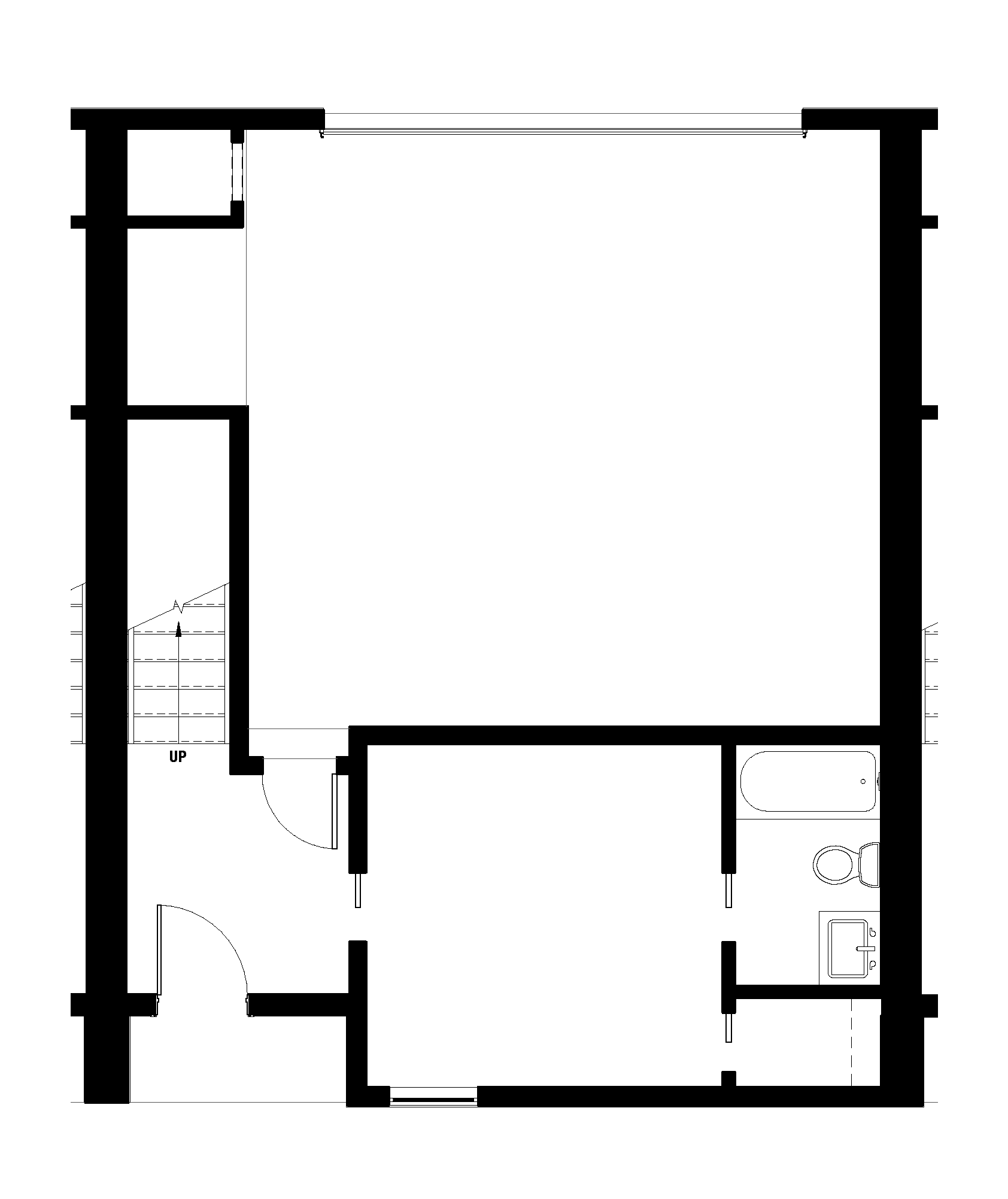 First Floor - Garage and Guest