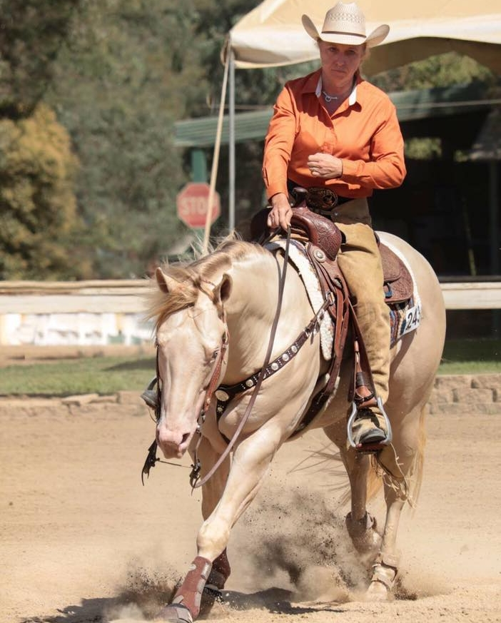 Jenny and Skyes The Limit II: Limited Non Pro 1 - 2nd Place, Limited Non Pro Circuit - 3rd Place  - (Photo not from Reining By The Bay)