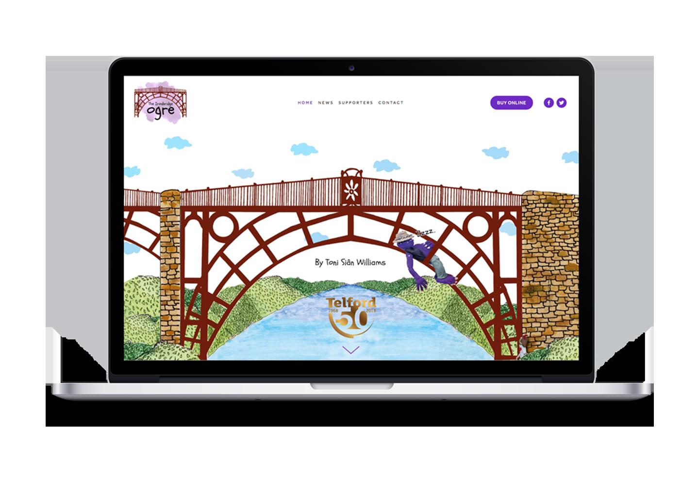 Full mobile responsive website design by after.marketing