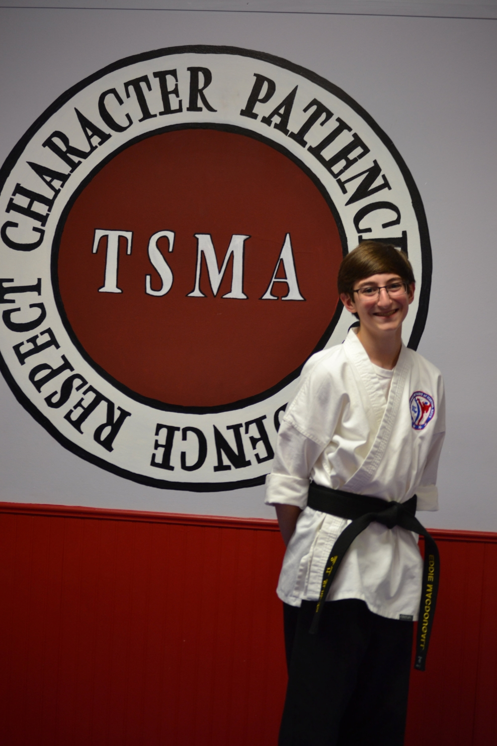 Eddie MacDougall joined TSMA when he was eight years old. He received his black belt on December 5, 2015. Eddie has been on the Demo and the Competition team. He has earned many medals at competitions. He also enjoys helping at Ninja camp in the summer. -
