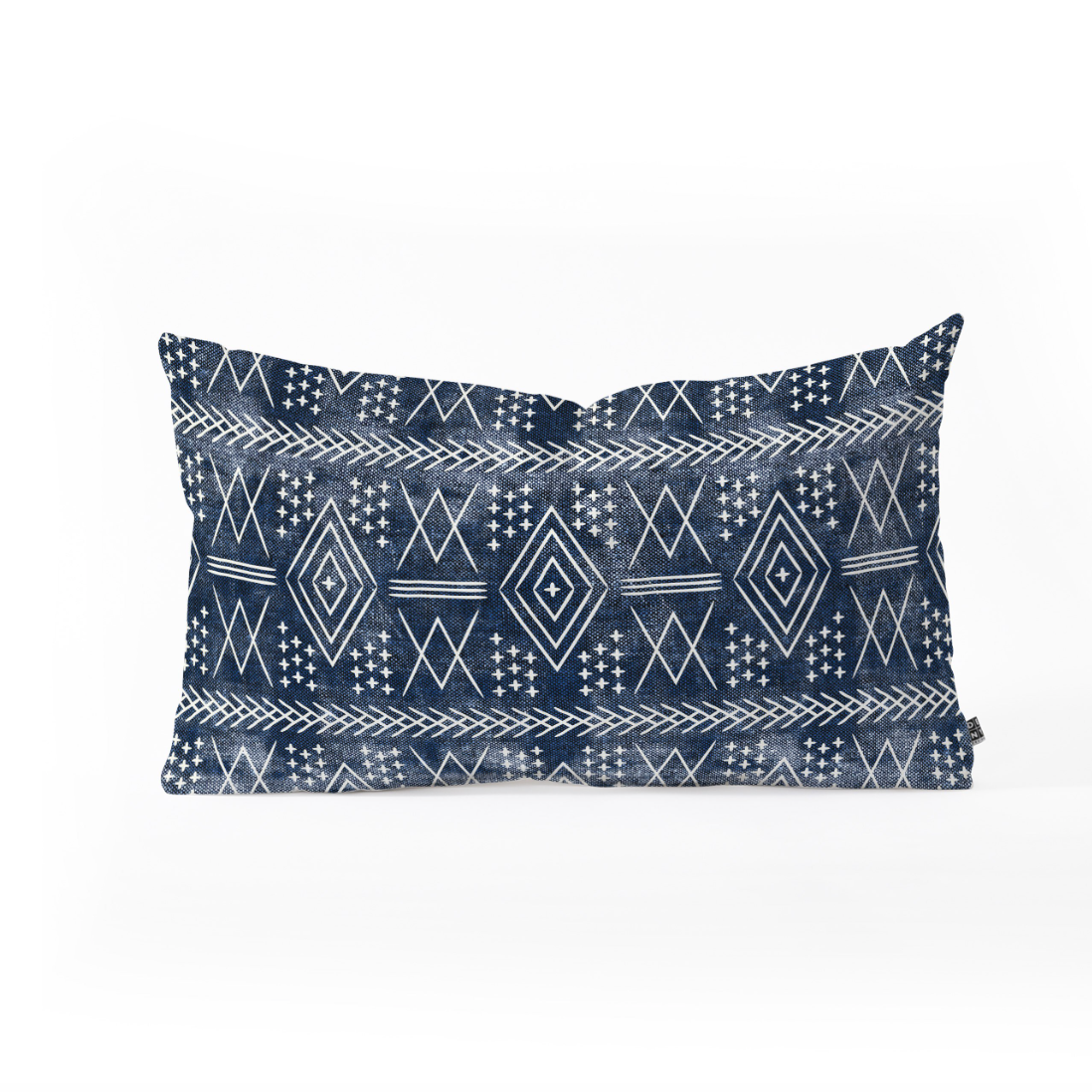 Oblong Throw Pillow offered by Deny Designs using the  Vintage Moroccan  design.