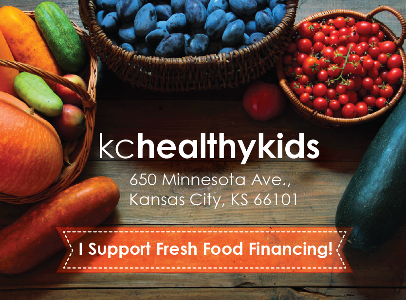 KC Healthy Kids - Fresh Food Postcard Design