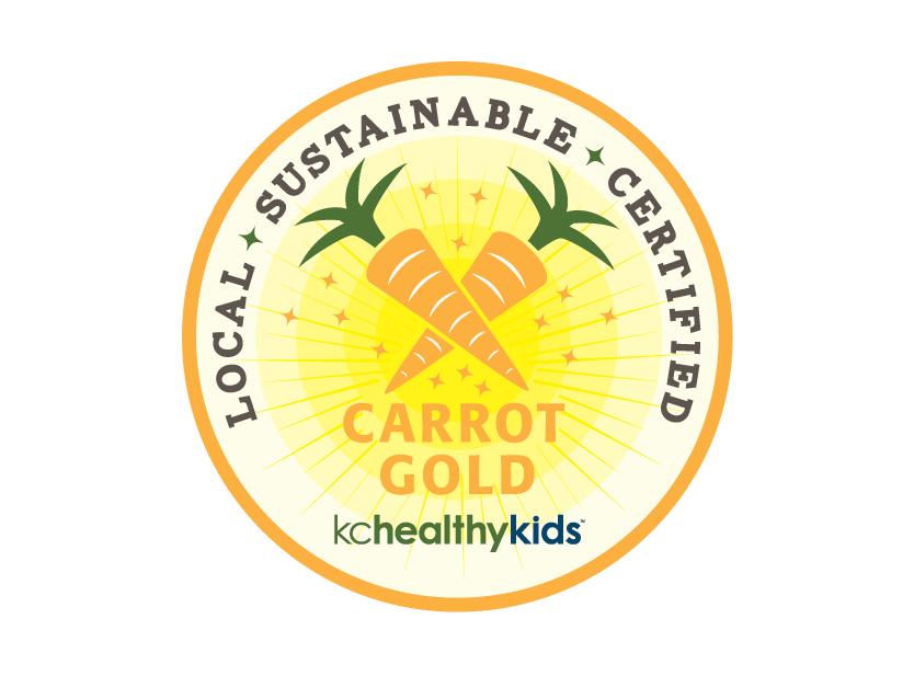 KC Healthy Kids - Carrot Gold Branding