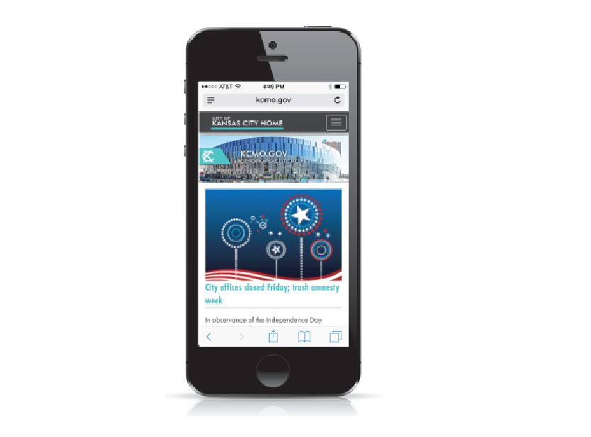The City of Kansas City - Web Design