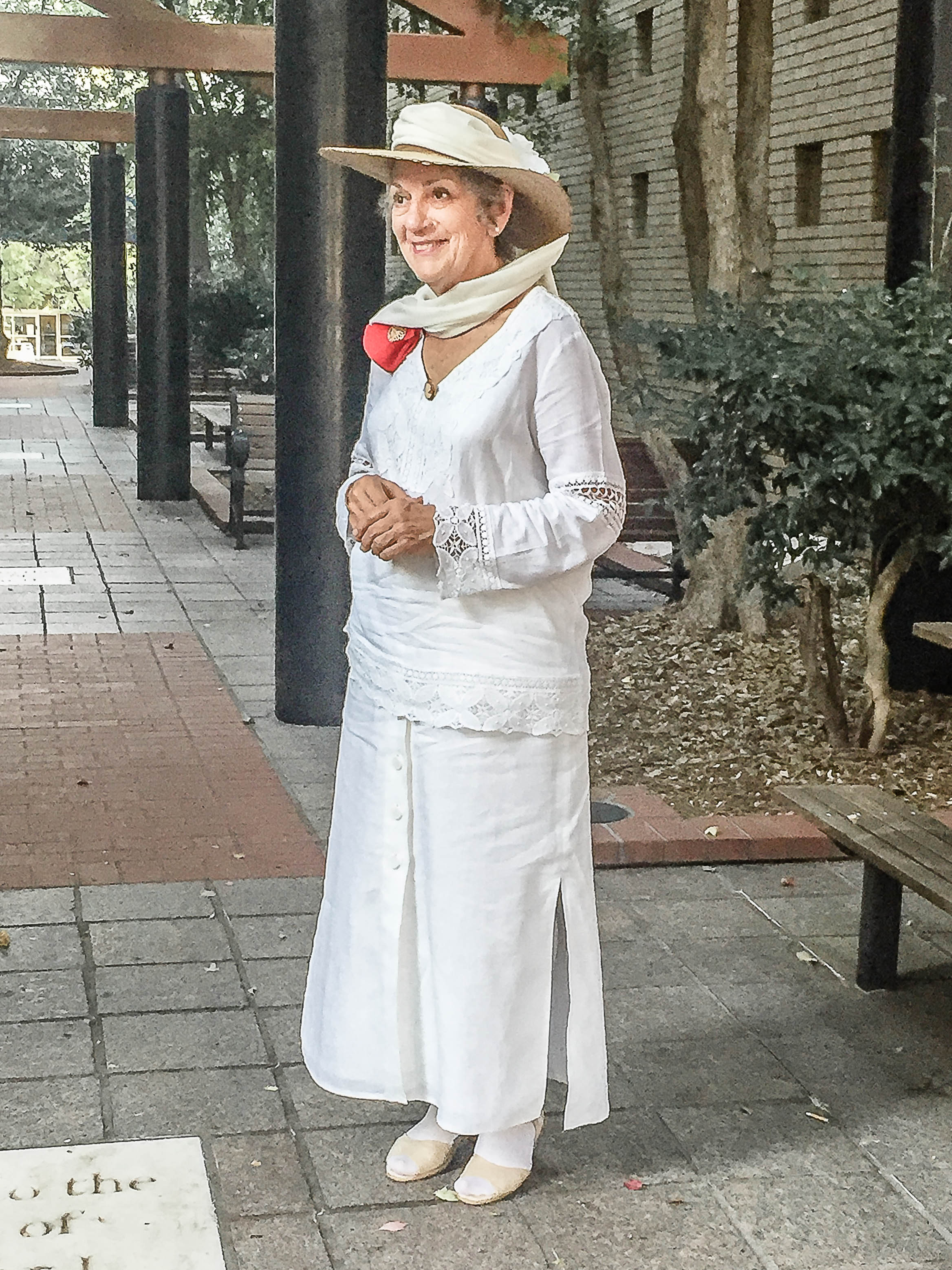 September 2018, Living History Moina Michael