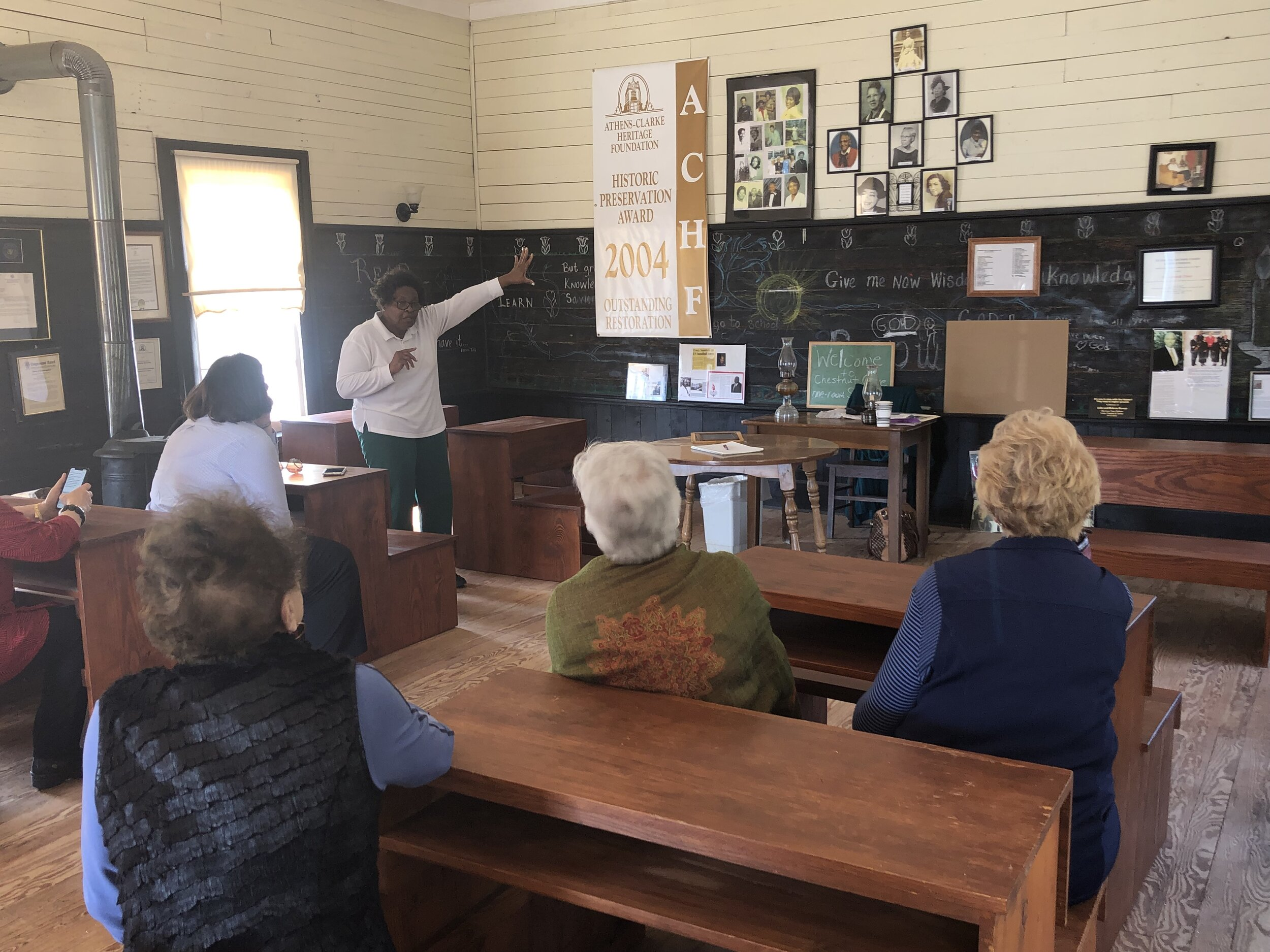 February 2019, Chestnut Grove School Tour with the UGA Women's Club