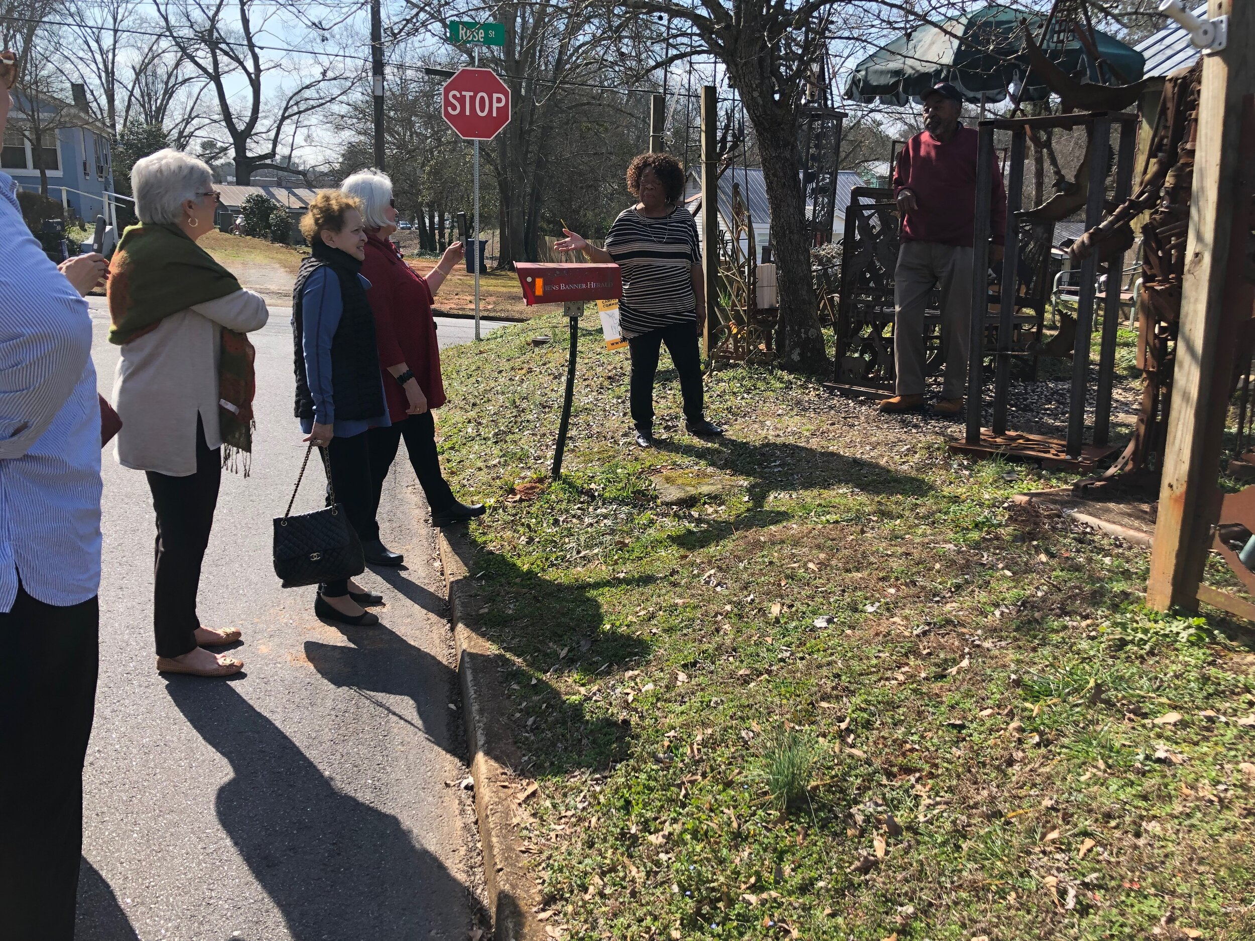 February 2019, African American History Tour with the UGA Women's Club
