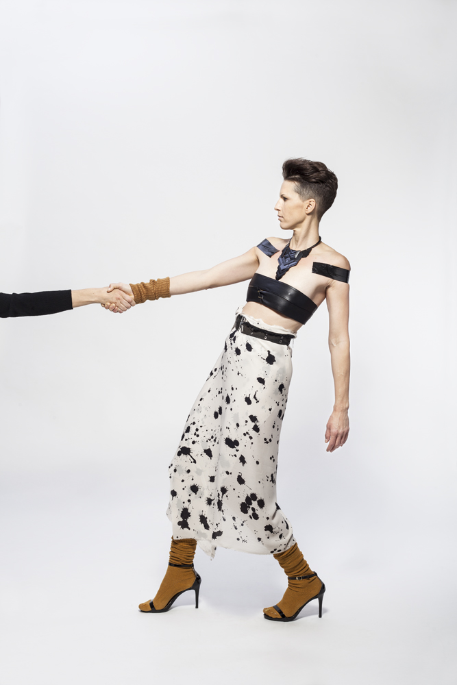 This is Jessica Serran, International Artist + Leader. Photo: Johana Posova, Hair + Makeup: Sonia. Styling + Art Direction: Eyenie