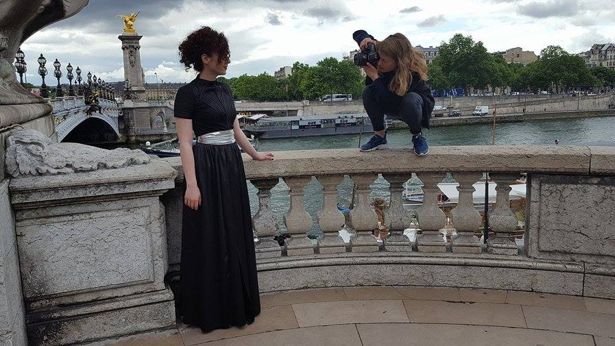 From Isabelle's photo-shoot in Paris! Styling + Art Direction by Eyenie.