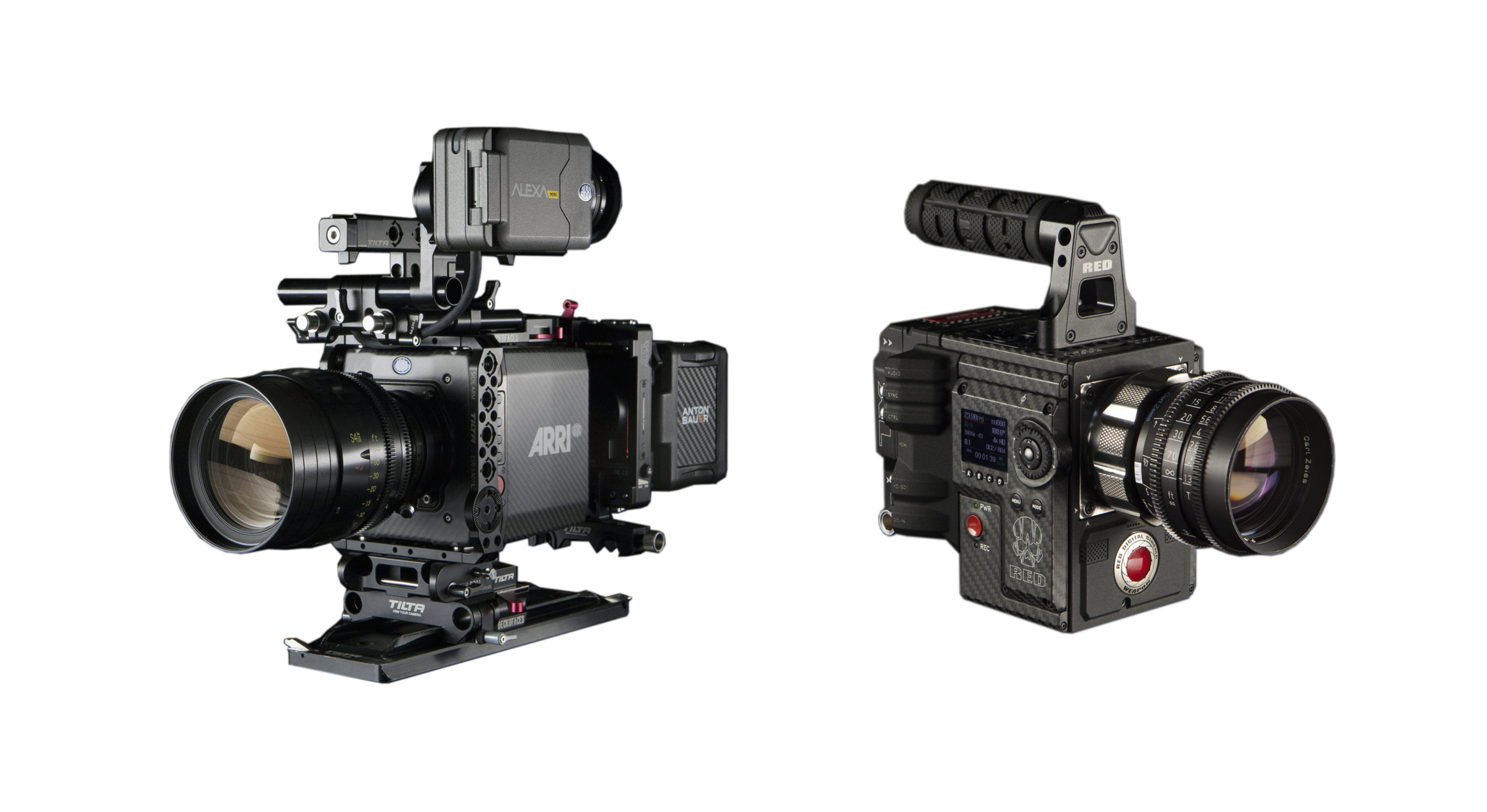 Rent Arri Alexa Mini, Arri Amira, Red Epic, Red Weapon Los Angeles