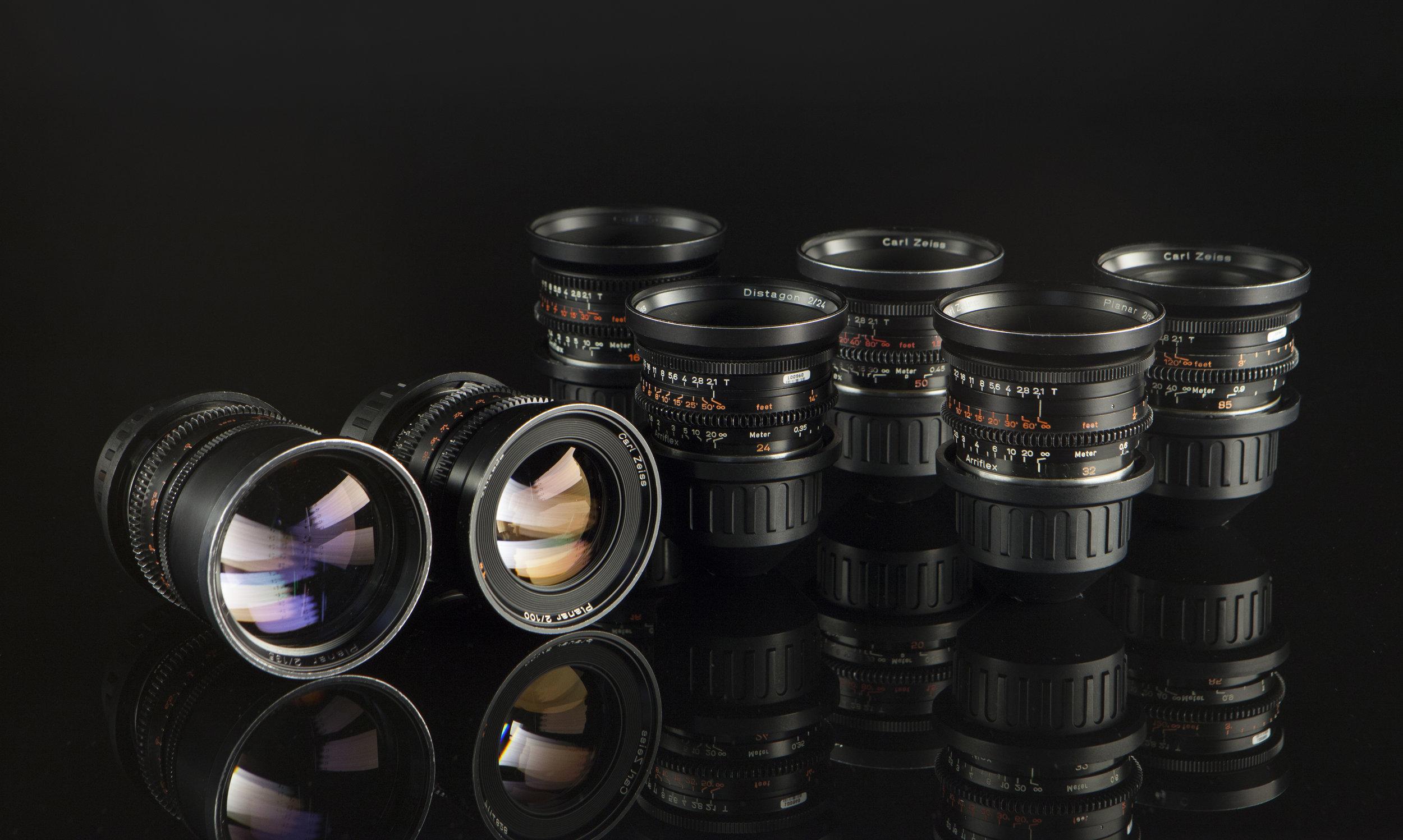 Rent Zeiss Standard Speed Lenses Los Angeles