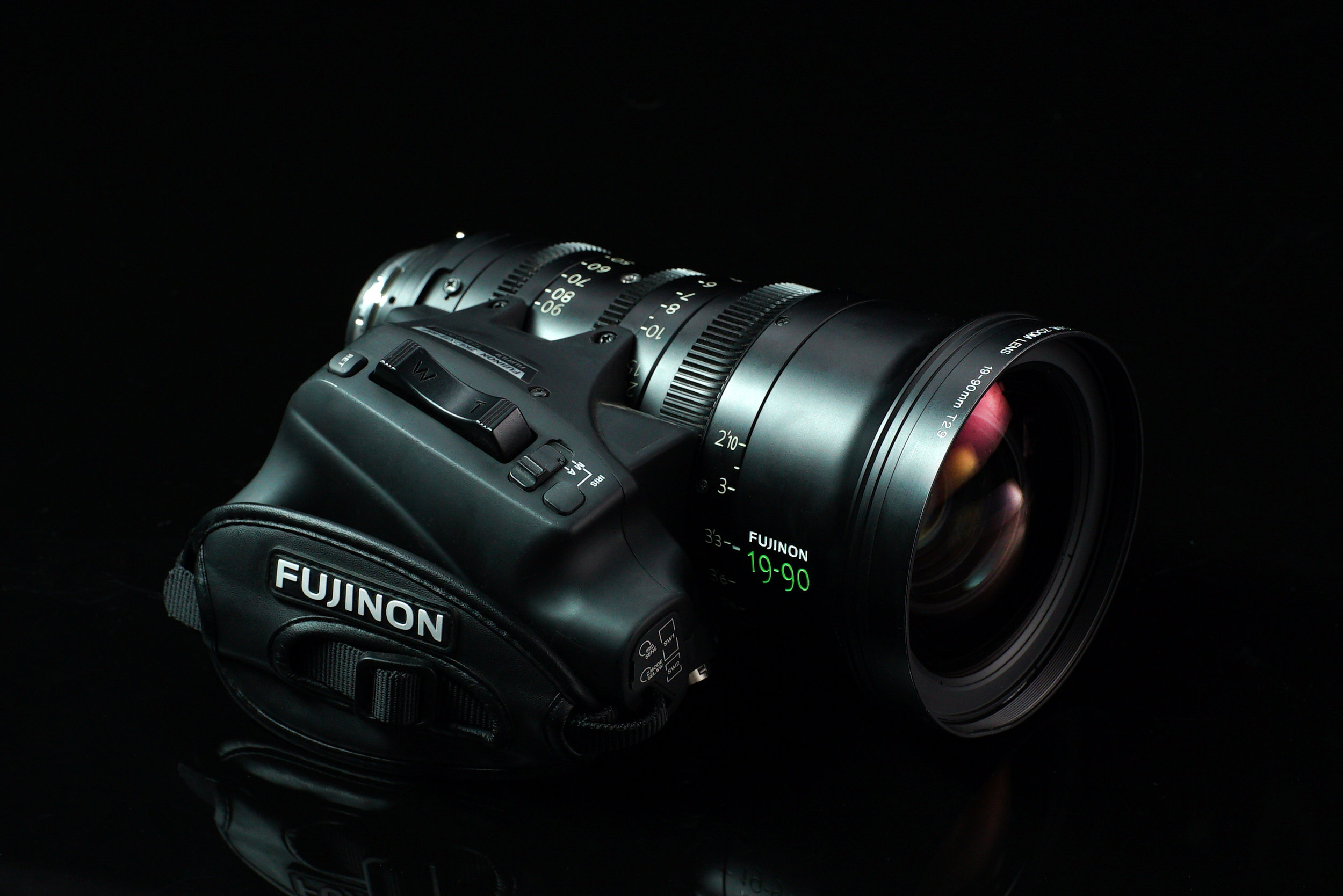 Rent Fujinon 19-90mm Cabrio Zoom Los Angeles