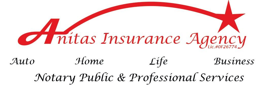 Anita's Insurance Agency  L3 Michigan Ave.  661-412-9394  anitazinsurance@gmail.com  Instagram: anitasinsurance  Facebook: anitasinsuranceagency