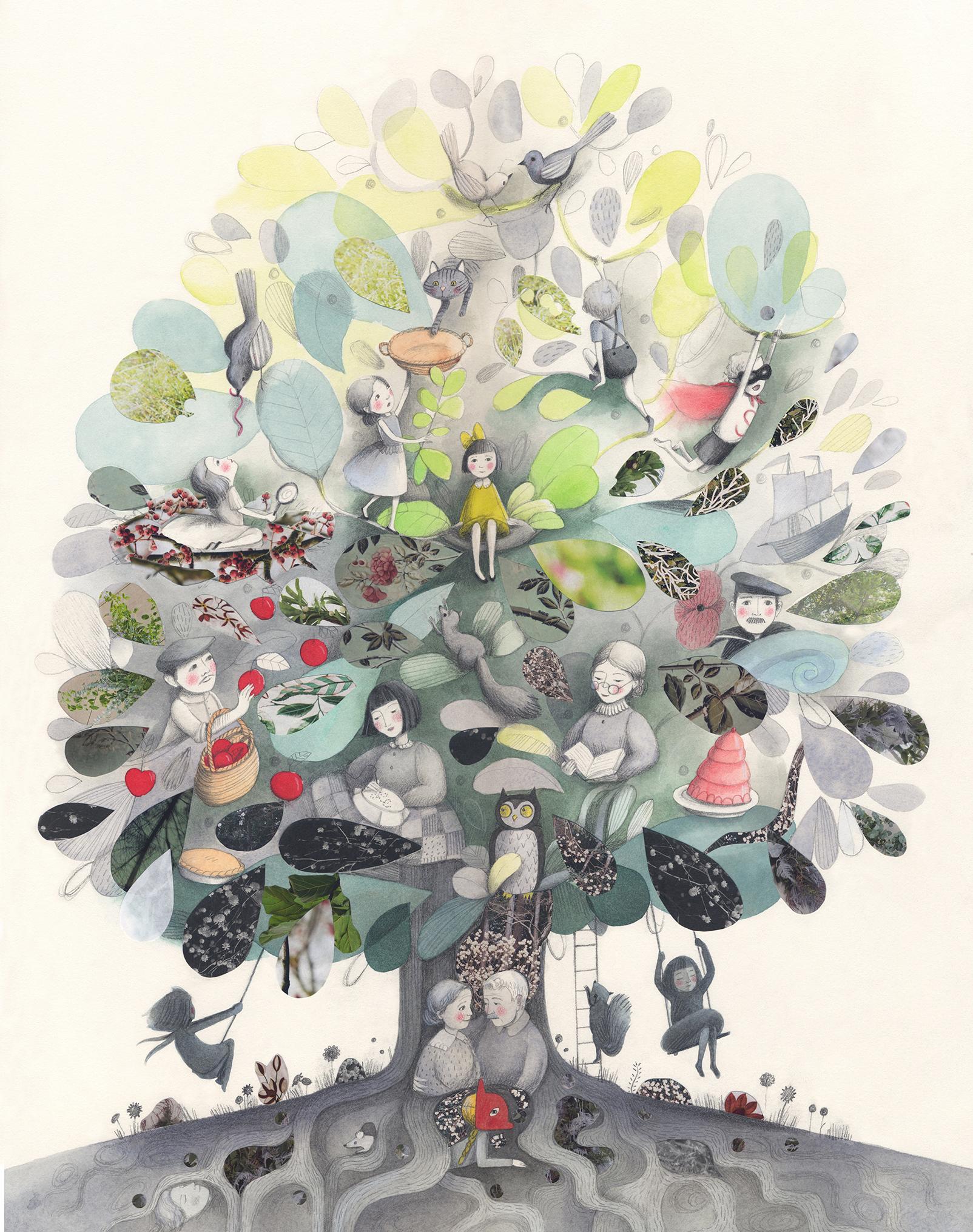 Tree of Family Life