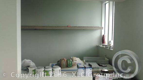 Custom 6' Wide Shelf Installed