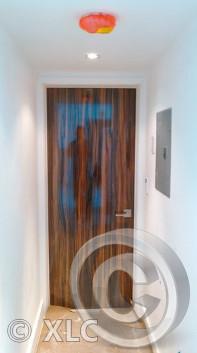Custom Cherry Oak Door