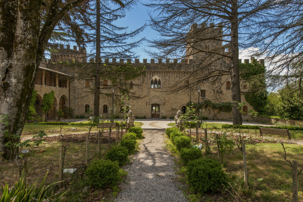 """Castle Umbria,"" a 14th century castle in Perugia"
