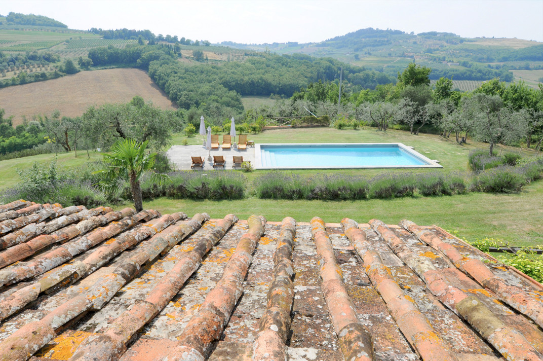 Country estate in Chianti Hills, Tuscany