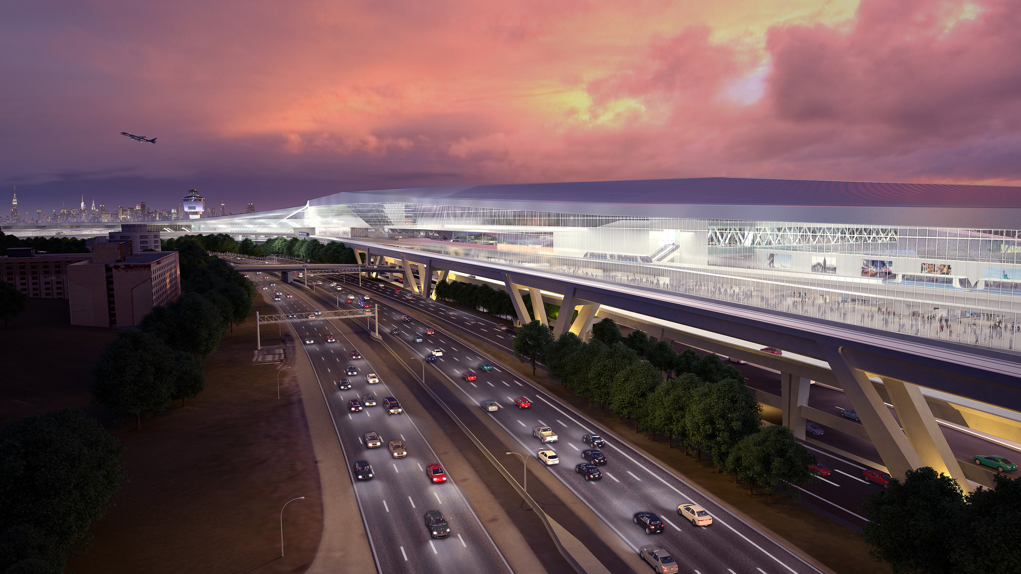 A rendering of the proposed changes to LaGuardia Airport via Governor Andrew Cuomo's Office
