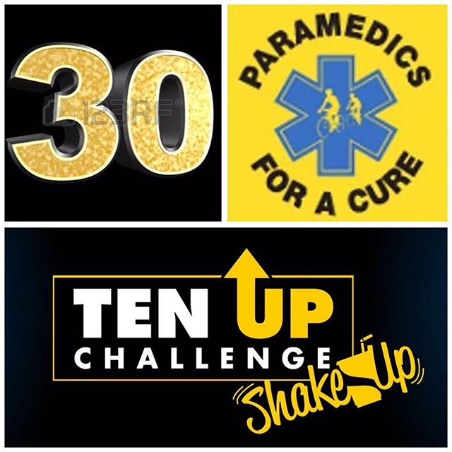 #paramedics4acure #woohooo #teamupchallenge We've done it! 30 new riders added for the tenth anniversary of #ridetoconquercancer and more importantly the fight to #endcancerinourlifetime Congratulations and welcome to the team!