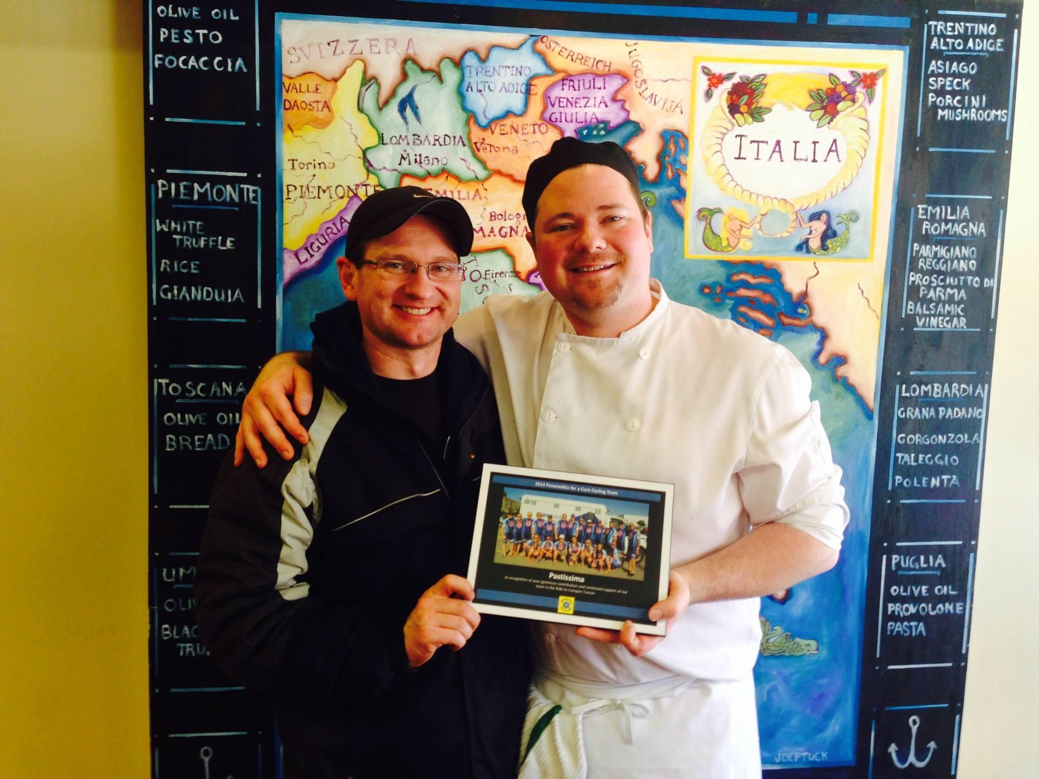 Joel McPhee / Pastissima Restaurant