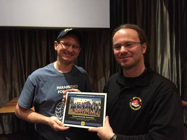 Geoff MacBride / Toronto Paramedic Association