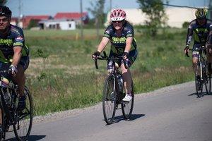 Mary Bryson , Recruiting   4-year rider  Nurse, St. Joseph's Hospital