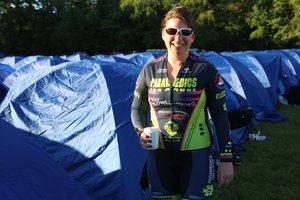 Carrie Mogan , Training Coordinator   5-year rider  Paramedic, Toronto EMS