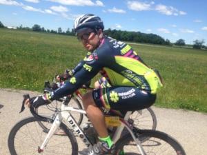 David Naftolin , Team Kit Coordinator   5-year rider  Paramedic, Toronto EMS