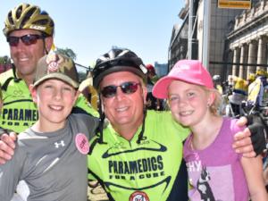 Brad Strauss    2-year rider  Family & Frends