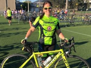 Danielle Spitzig    2-year rider  Paramedic, Hastings-Quinte EMS