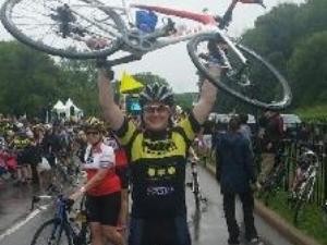 Darren Boonstra    4-year rider  Paramedic, Toronto EMS