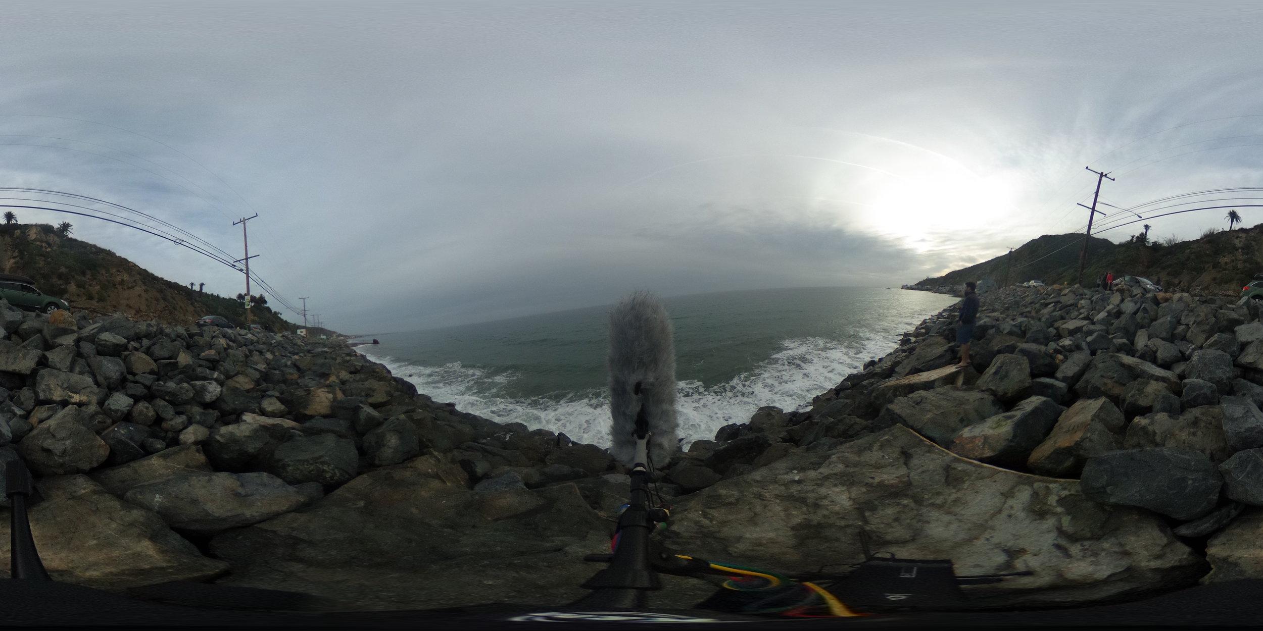 EXT_Day_Beach_RockyCliff_WavesonRocks_OceanSpray_OceanFoam_MediumHighwayTraffic_JPEG.JPG