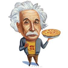 Pi and Albert's Birthday is always celebrated with a big Pie.....