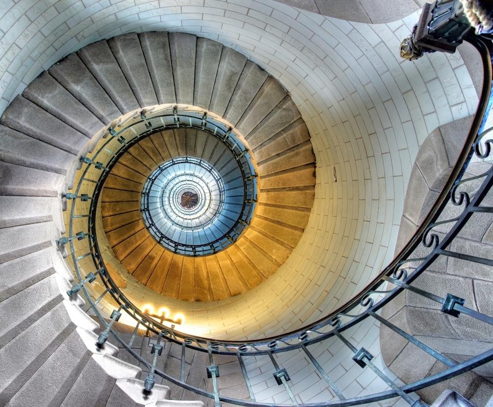fibionacci stairs