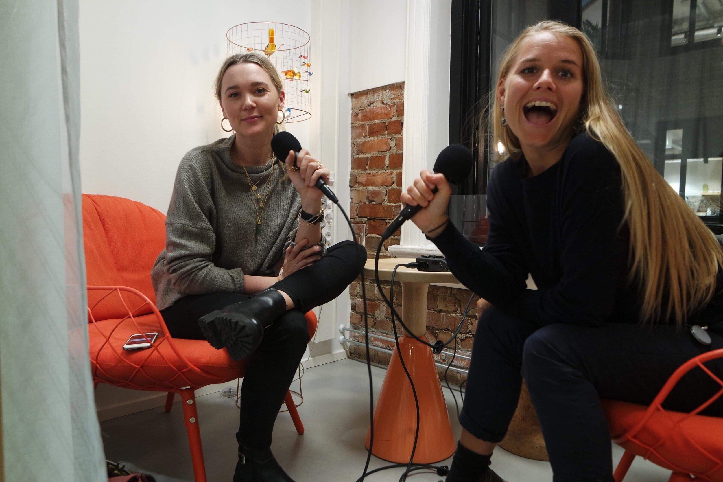 Ingridbergtun.yrjaoftedahl.powerladiespodcast