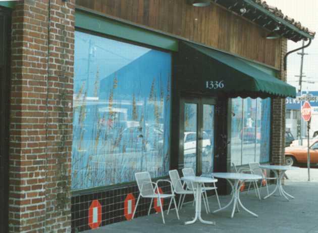 Title: Berkeley Natural Grocery, Gilman Street, Berkeley    Medium: Acrylics on Canvas