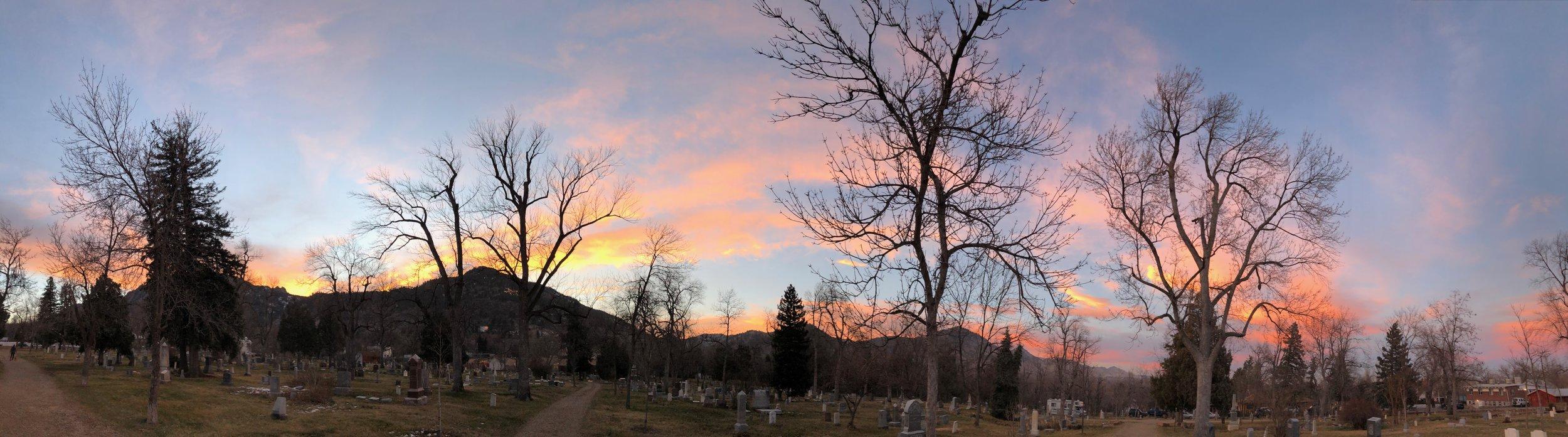 Boulder-CO-Sunset