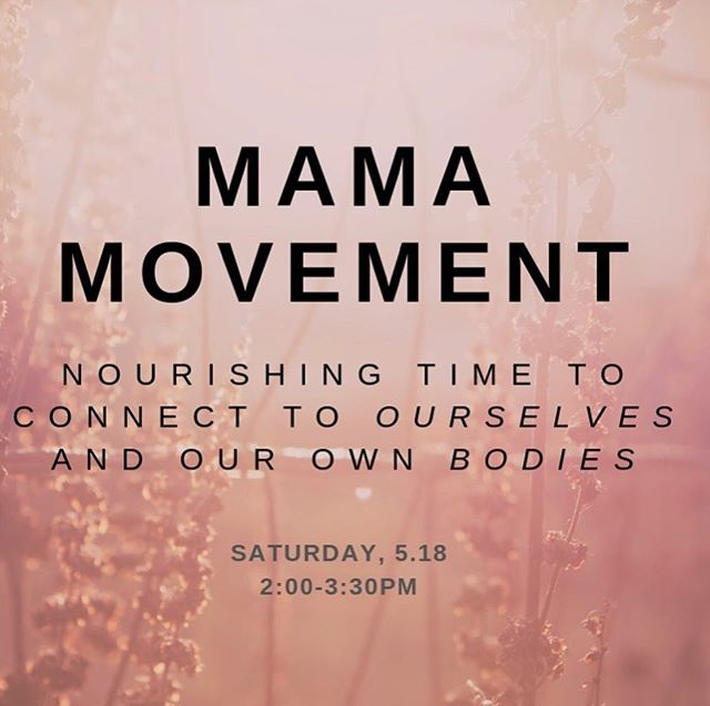 And we bring you, mama movement! Join @liviacohenshapiro and I for a monthly movement offering to support and tend to the journey of motherhood.  Saturday 5/18 2-3:30 $12-20 sliding scale.  Boulder Circus Center.  #mamamovement #boulderlife #parenting #mothering #somatictherapy  #thankslivforthepost 😉
