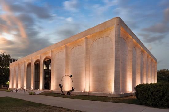 Sheldon Museum of Art in Lincoln, Philip Johnson