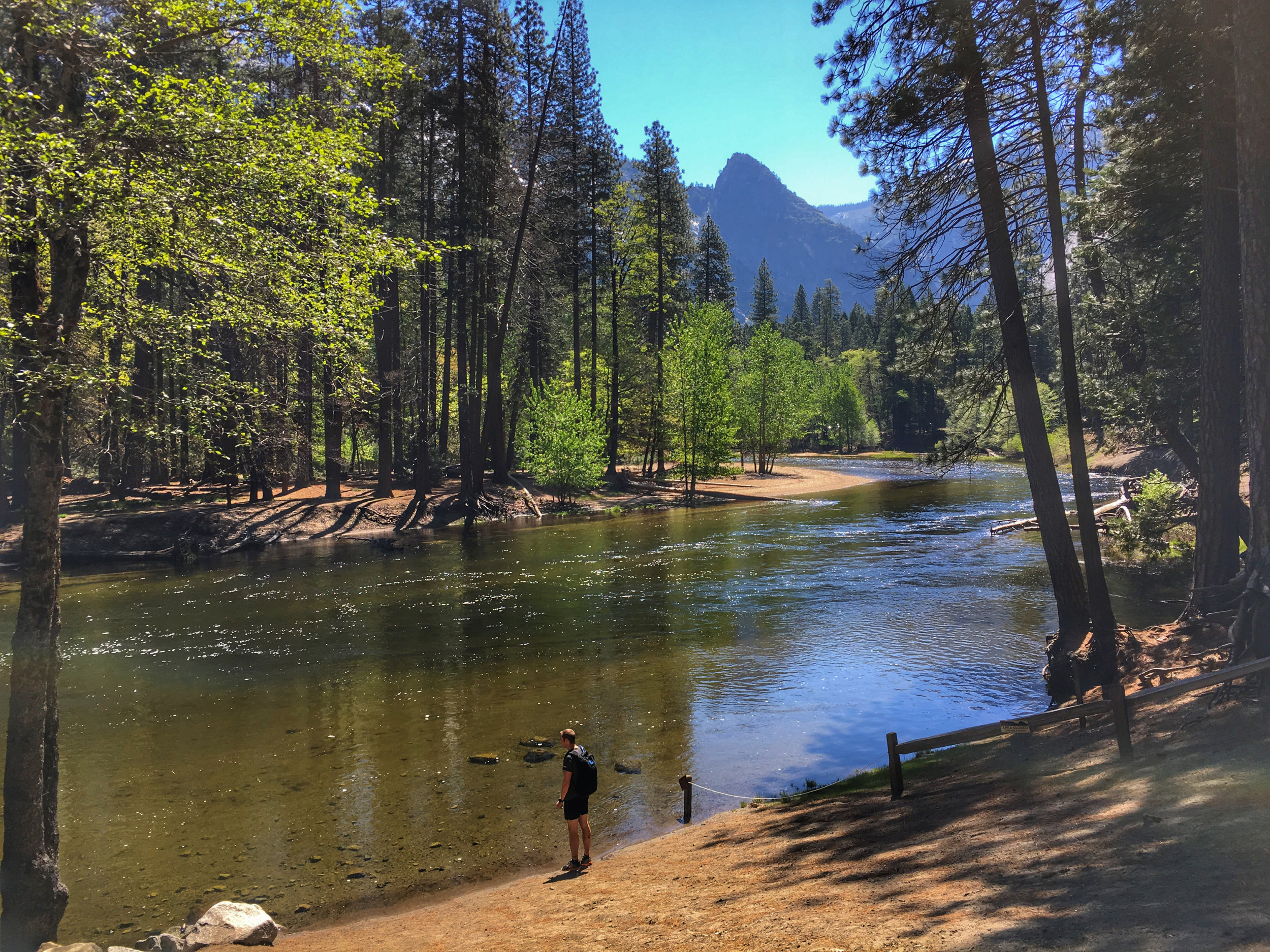 Views of the Merced River