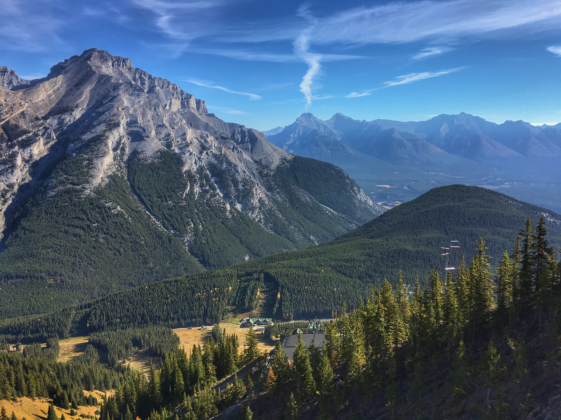 Banff National Park is one of the most amazing places in the world. Do yourself a favor and climb the Via Ferrata.