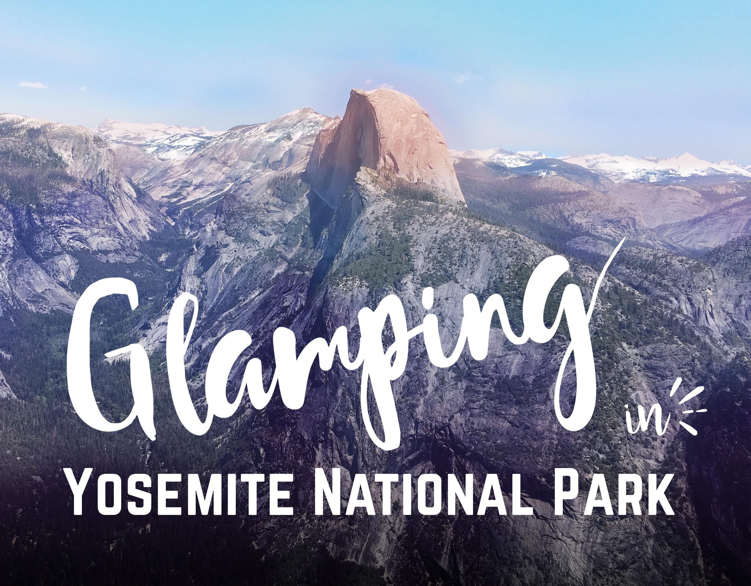 Go Exploring Travel - Glamping at Housekeeping Camp in Yosemite National Park