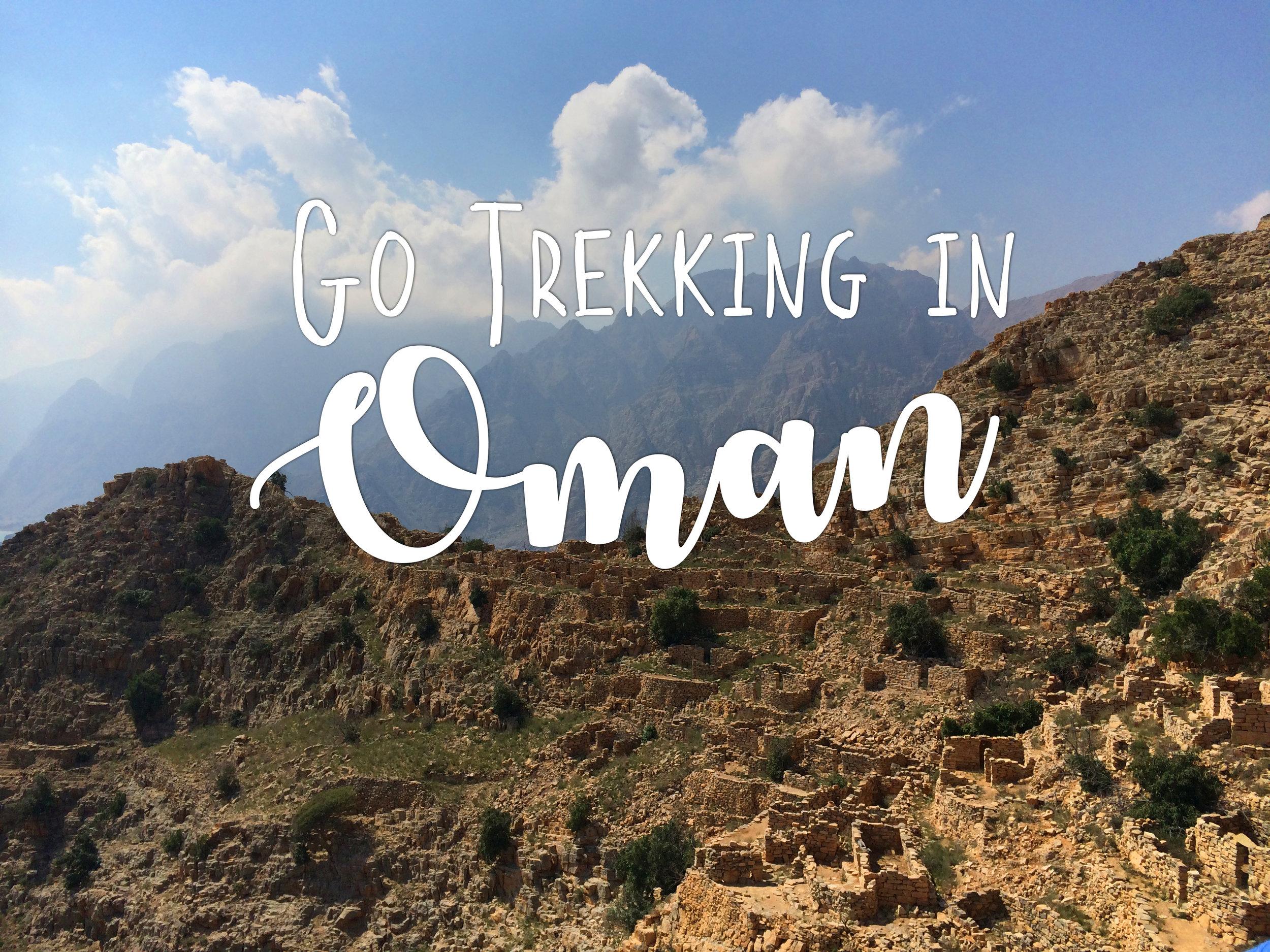Go Exploring Travel - Trekking the Musandam Peninsula - Oman