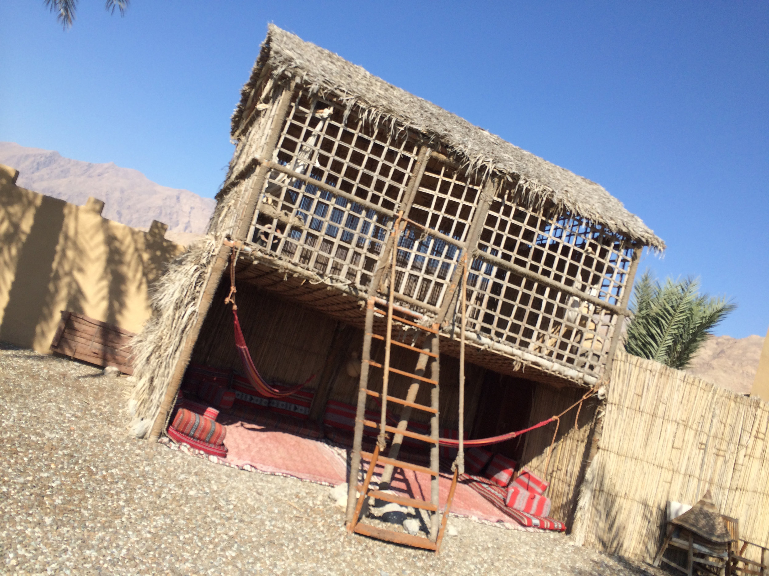 Absolute Adventure's activity center in Dibba, Oman