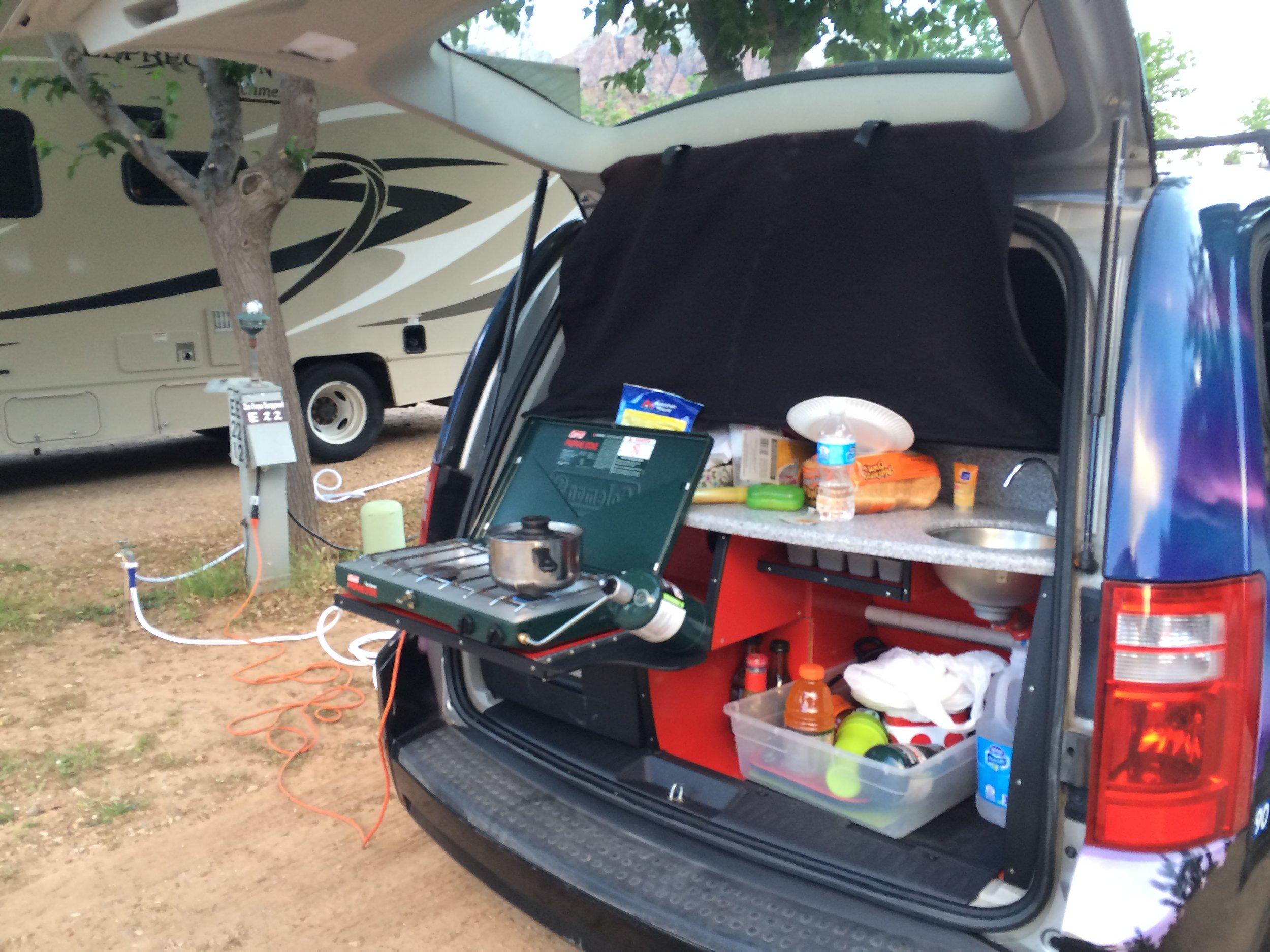Camper Van Kitchen Life