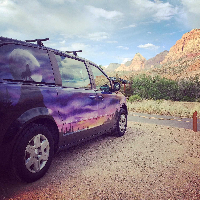 Escape Camper Van in Zion