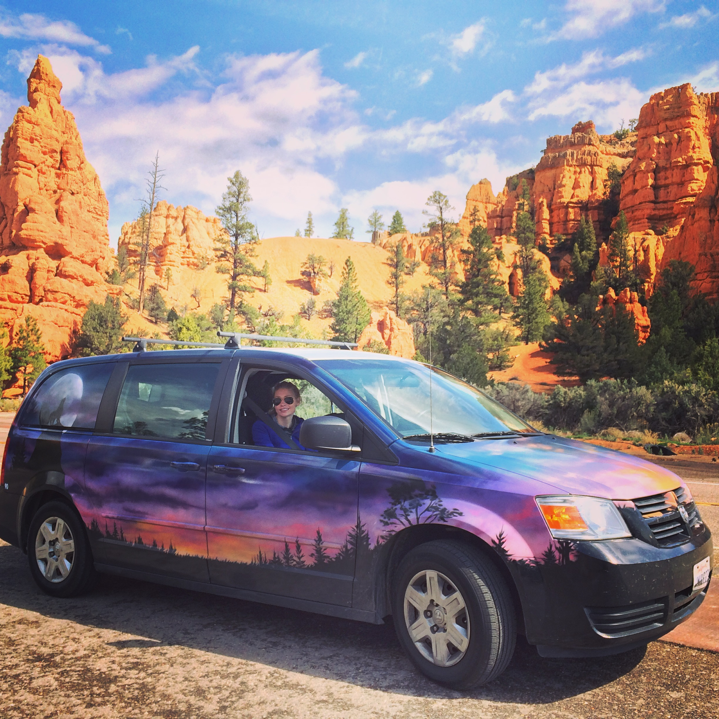 Road trip to Bryce Canyon