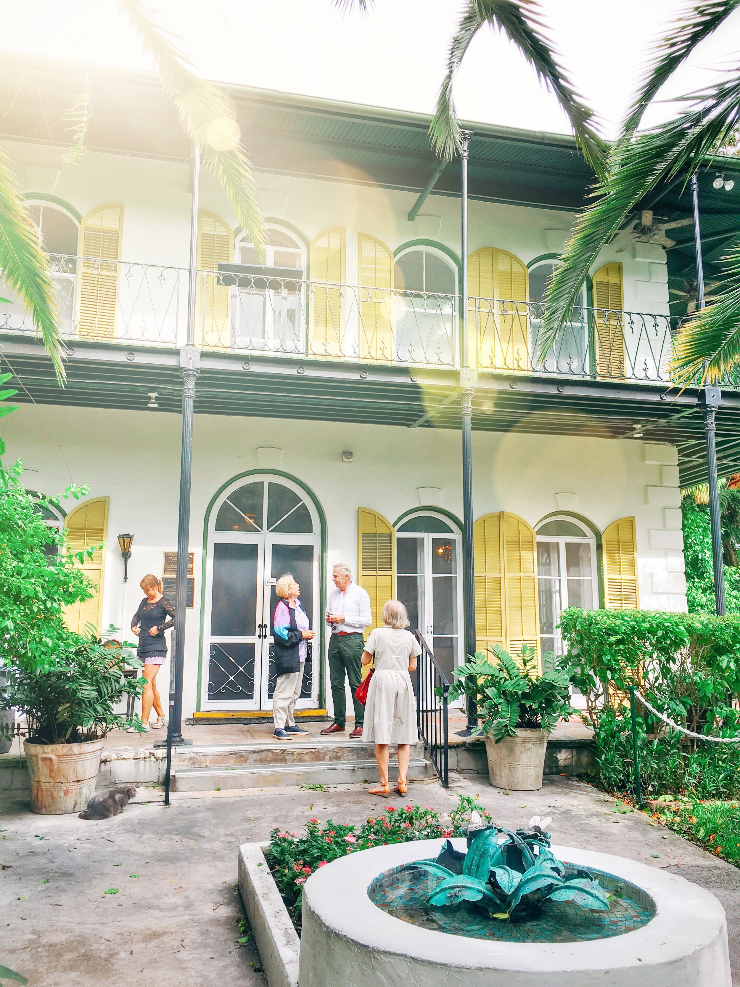 Visit the Hemingway House in Key West